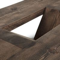Ouseburn Solid Wood Coffee Table With Storage